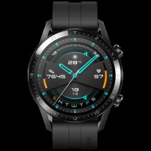 HUAWEIWATCHGT2(46mm)曜石黑华为智能手表(两周续航+高清彩屏+蓝牙通话+麒麟芯片+心脏健康监测) 1488元