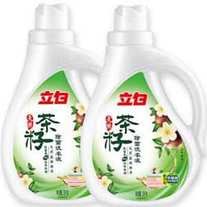 Liby立白茶籽除菌洗衣液12斤+凑单品 40元