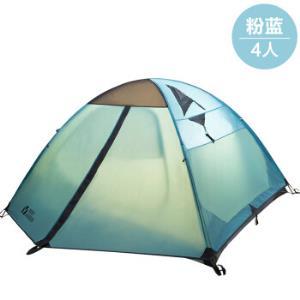 牧高笛户外帐篷防暴雨加厚2人野外露营装备3-4人冷山专业四季帐篷 639元