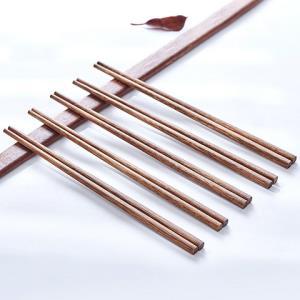 移动端:芙盼红檀鸡翅木筷子10双装5.8元包邮(需用券)