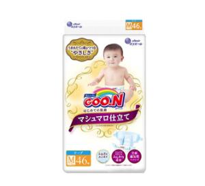 GOO.N大王棉花糖系列婴儿纸尿裤M46片    59元(需用券)