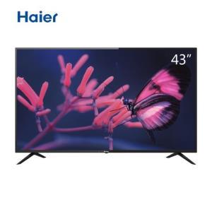 海尔LE43M3143英寸全高清智能网络4G内存窄边框LED平板电视机1099元