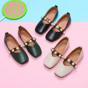 秋季女童豆豆鞋单鞋公主皮鞋26-37码 券后39.9元