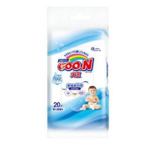 運費券收割機:GOO.N大王護膚嬰兒濕巾20片0.5元