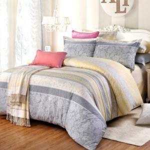 艾薇(AVIVI)纯棉床单四件套40支全棉床品件套美丽心情200*230cm*2件 278元(需用券,合139元/件)