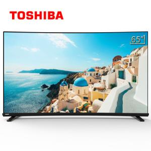 东芝(TOSHIBA)65U6780CPRO65英寸曲面全面屏智慧远场景AI声控32G大内存金属边框超薄4K电视机自营 3699元(需用券)