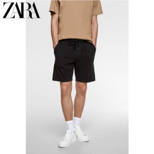 ZARA00701400800男士休闲短裤 129元