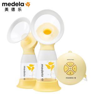 美德乐(Medela)丝韵・翼舒悦版母乳电动吸奶器双侧Flex舒悦科技SwingMaxiFlex新品升级(瑞士进口)1699元