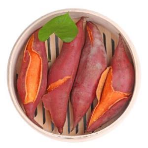 烧烤地瓜海边沙地新鲜红蜜薯5斤中果(18-25个)礼盒装+网套 15.8元(需用券)