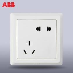 ABB 德逸系列 AE205 五孔插座 9只装 ¥48.1