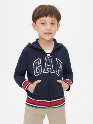 男孩 Logo徽标落肩长袖连帽卫衣 199元