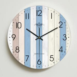 家用钟表客厅挂钟卧室美式时钟挂表静音 28.5元(需用券)