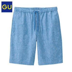 GU极优314455男士抽绳宽松短裤 79元
