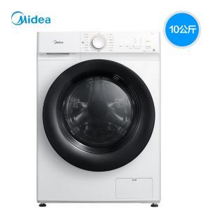 美的(Midea) MD100V11D 10公斤 洗烘一体机   券后1999元