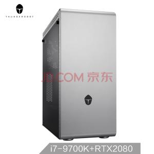 Thun16日0点:deRobot 雷神 Master N8S 台式电脑主机(i7-9700K、16GB、512GB+2TB、RTX2080 ) ¥11888