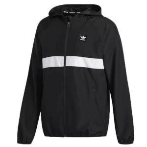 Adidas/阿迪达斯防风服新款男服三叶草透气连帽运动服DH3872 249元