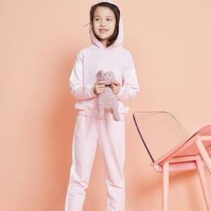 美特斯邦威旗下Moomoo童装童连帽卫衣套装 89元