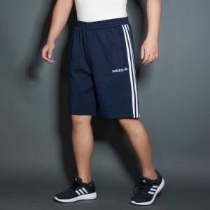 三叶草系列简约透气男款针织短裤男士运动裤 99元
