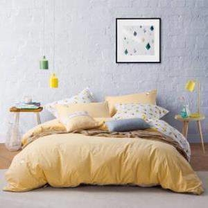 乐我家纺(LOVO) 水洗棉四件套 甜蜜冰激凌 1.8米床 *2件+凑单品  370.9元(合185.45元/件)