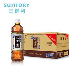 三得利 无糖乌龙茶 茶饮料 500ml*18瓶