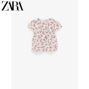 ZARA新款女婴幼童印花衬衫03336001620 59元