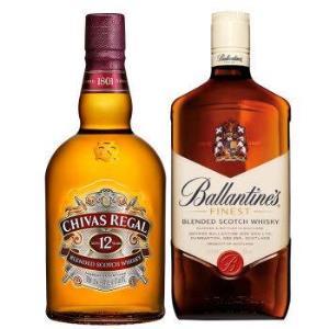 芝华士12年1000ml+百龄坛特醇1000ml洋酒苏格兰威士忌套装 322.15元