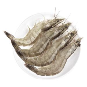 我爱渔生冻南美白虾600g中号规格(30-36只)+冷冻智利三文鱼鱼头500g2-3片装*5件 151.56元(合30.31元/件)