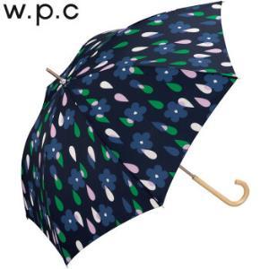 wpc晴雨伞轻量耐用可爱优雅花朵水滴个性长柄晴雨伞花与雨款2278-07深蓝 154元