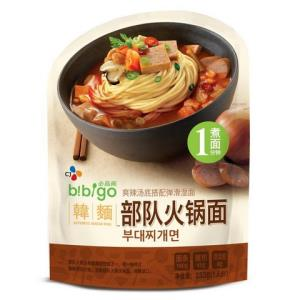 bibigo必品阁部队火锅面233g 6.26元