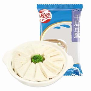 海欣千层豆腐2.5kg约225个火锅关东煮食材 13.21元