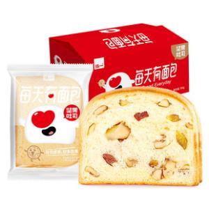 每天有面包 坚果夹心吐司面包700g 券后¥19.9