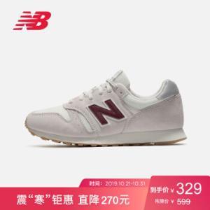 NewBalanceNB官方373系列男鞋女鞋复古休闲鞋运动鞋ML373NBC雾灰色ML373OWW39.5 324元