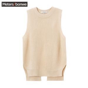 美特斯邦威215599女士毛衣背心 41.44元