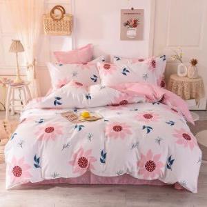 麦琪娜全棉四件套斜纹高支高密床单被套四件套 239元