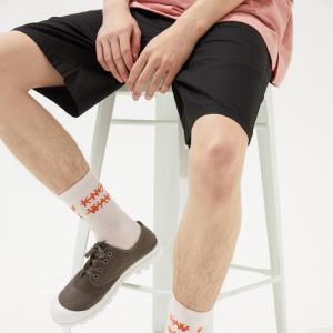 美特斯邦威梭织中裤夏季新款青少年个性时尚迷彩迷彩梭织中裤 22.24元