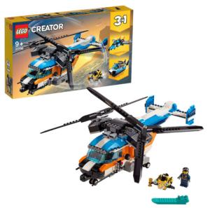 LEGO乐高Creator创意百变系列31096双螺旋桨直升机 373.15元