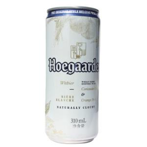 Hoegaarden福佳啤酒白啤酒比利时风味310ml*4听*6组 99元