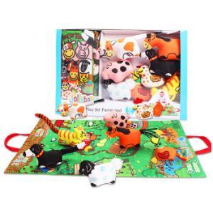 jollybaby0-1-3岁摇铃儿童益智玩具立体布书礼盒装(农场立体布书))*2件+凑单品71.4元(需用券,合35.7元/件)