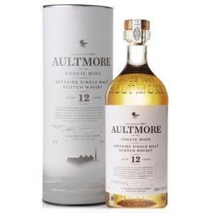 欧摩12年斯贝塞单一麦芽苏格兰威士忌洋酒Aultmore12Years271.6元