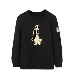 HushPuppies暇步士童装新款男女同款卫衣时尚套头卫衣亲子款卫衣 66.24元