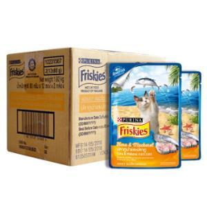 泰国进口喜跃成猫真鱼包猫零食猫湿粮80g*24吞拿鱼及鲭鱼味*6件247.02元(合41.17元/件)