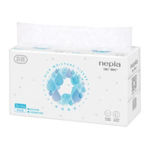 妮飘(Nepia)润颜柔软护肤保湿抽纸面巾纸餐巾纸日本原液配方一纸多用3层108抽6包*2件 83.86元(合41.93元/件)