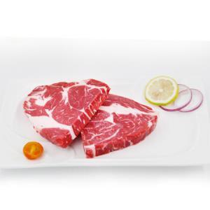 祁连牧歌国产安格斯上脑牛排360g/袋(2片)国产牛肉排酸牛肉原切牛排非进口*5件 161元(合32.2元/件)