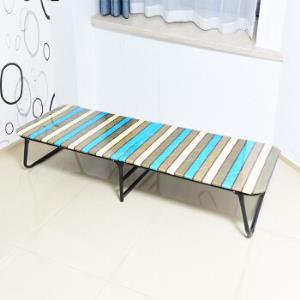 耐维Niceway折叠床木板床硬板简易折叠床板式单人床办公室午休床午睡床陪护床沙发床60cm宽