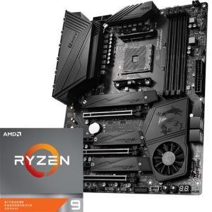 MSI微星MEGX570UNIFY暗影板主板AMD锐龙93900X处理器板U套装 5299元包邮