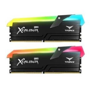 十铨(Team)DDR4360016G(8G*2)台式机内存条王者之剑系列RGB灯条799元