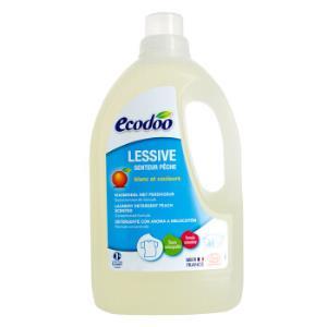 逸乐舒ecodoo法国进口洗衣液欧盟有机清洗剂浓缩低泡易漂洗桃香味1.5L*2件 99元(合49.5元/件)