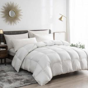 京东京造羽绒被90白鸭绒被冬季被芯200x230cm填充1100g3.8斤    799元(需用券)