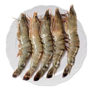 浓鲜时光 泰国活冻黑虎虾 毛重1kg 500g 20-25只 *3件