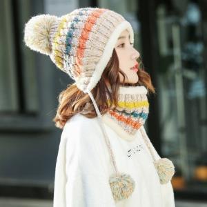 艾莱客女士毛线帽多款可选不含围脖 9.9元包邮(需用券)